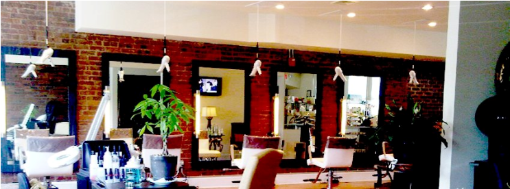 Salon with Minardi Color Lighting and Freestyle Hair Dryers